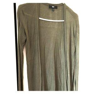 Lightweight army fatigue green sweater